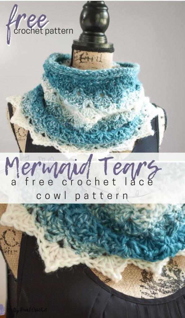 Mermaid Tears Cowl | CRAFTS - Crochet & Knitting both Paid & Free ...