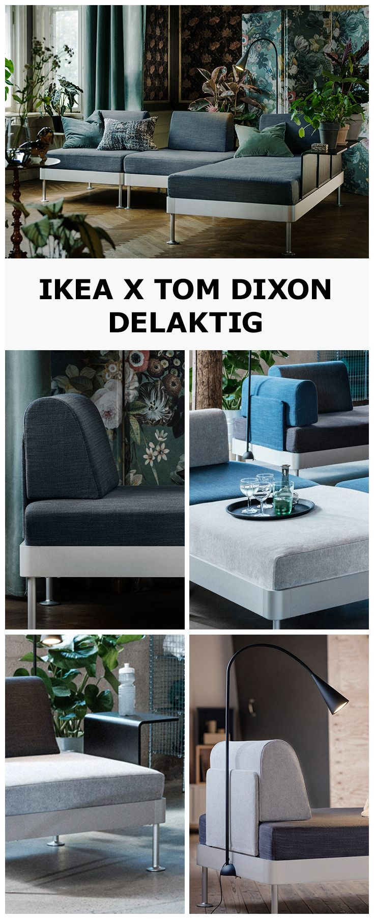 We Ve Teamed Up With British Designer Tom Dixon To Create Delaktig Inspired By Modern Living Delaktig Adapts To Wh Attic Renovation Attic Rooms Attic Remodel
