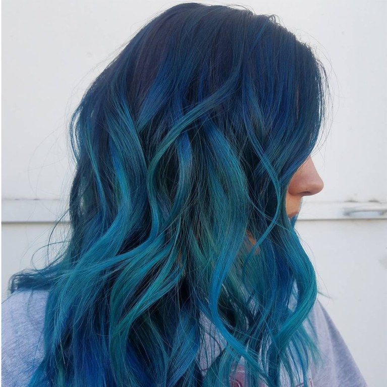 This Ocean Blue Dye Job Brings New Meaning To The Term Beach