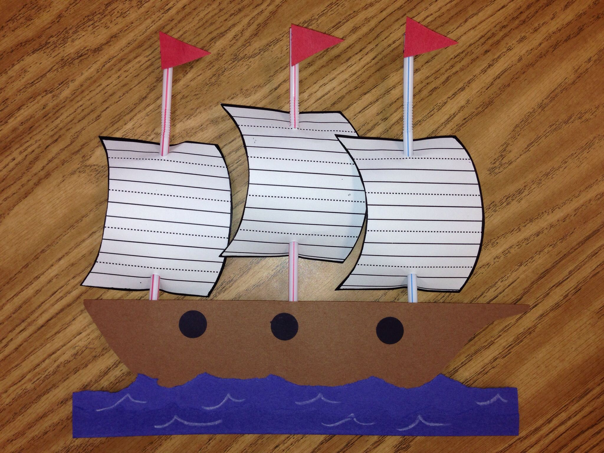 Christopher Columbus Craft Mayflower Craft 1st Grade