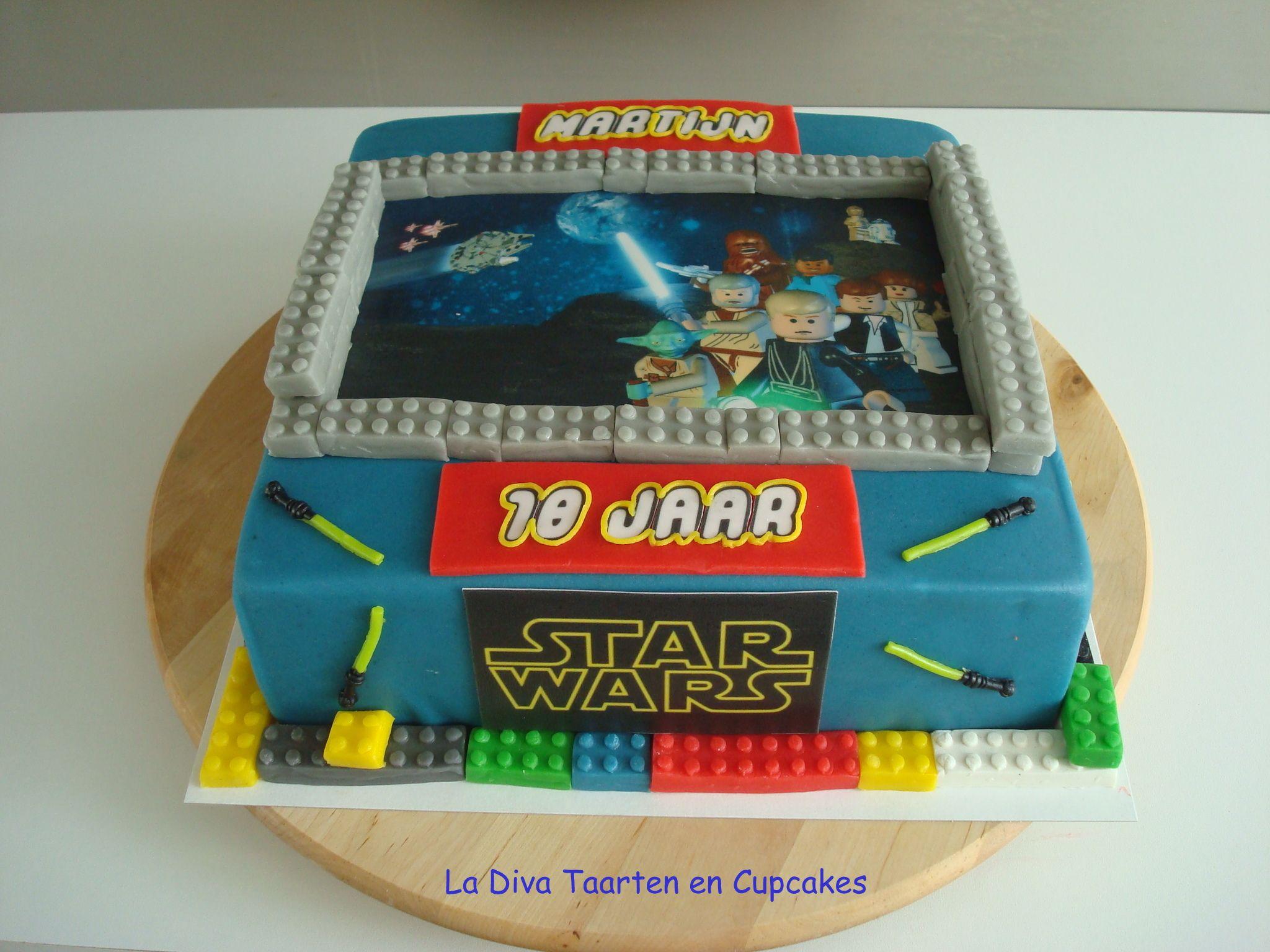 Lego Starwars Taart