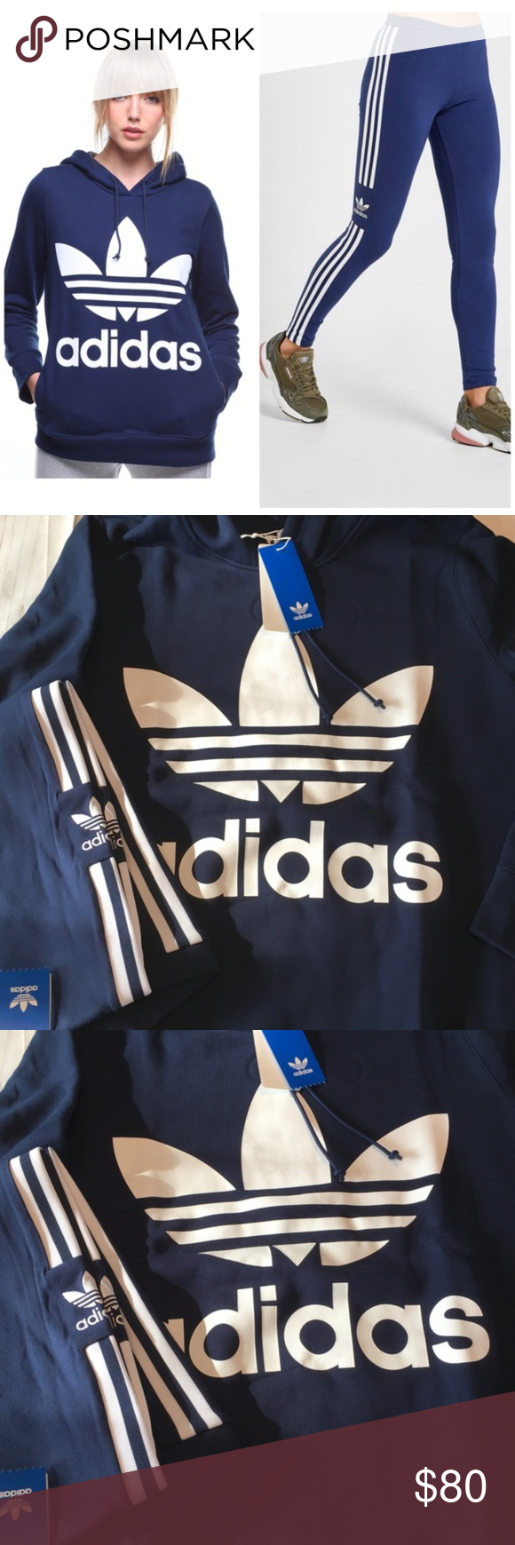 New Matching Adidas Hoodie Leggings Outfit L Set Adidas Originals Outfit Outfits With Leggings Adidas Leggings Outfit [ 1740 x 580 Pixel ]