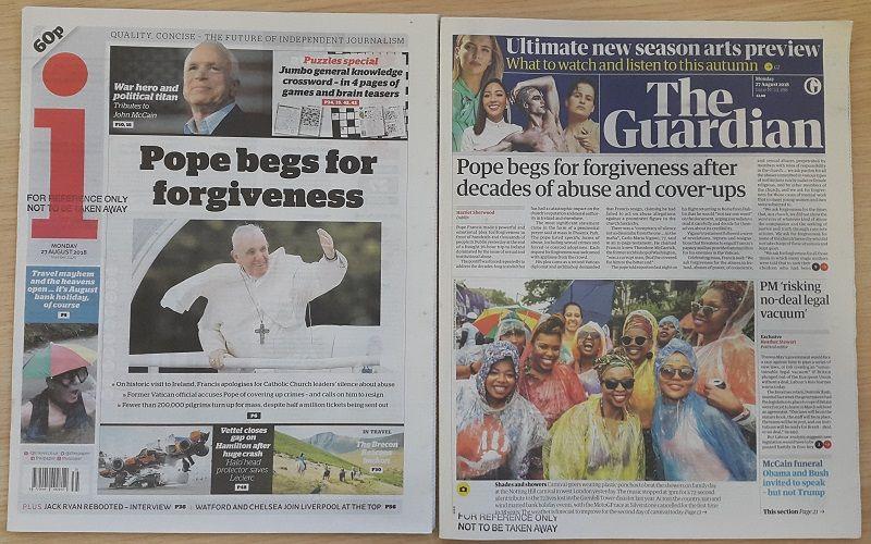 Pope begs forgiveness for Church sins Ddfd5c1e7fa76d86d18360de28b79368
