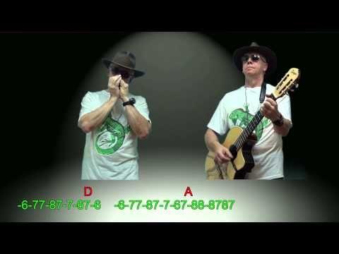 Nº 091 Chiquitita Abba Tutorial Armonica Diatonica A Guitarra Mundharmonika Armonica Guitarras Abba
