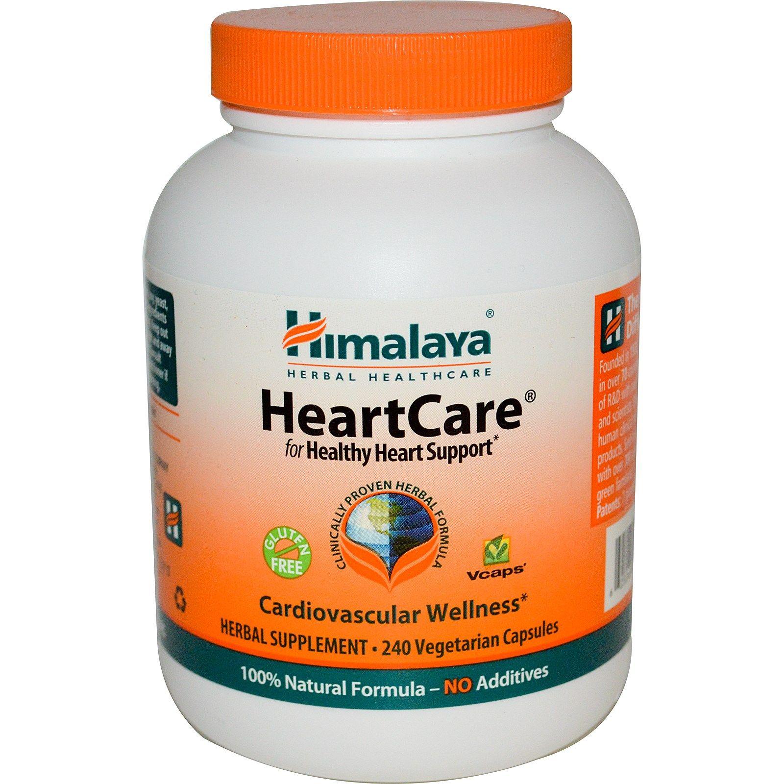 Himalaya, HeartCare, 240 Vegetarian Capsules Herbalism