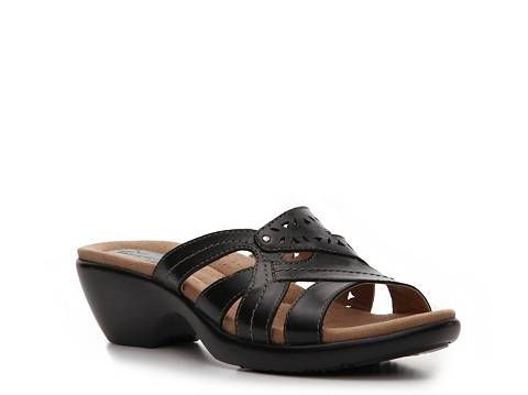1f64a00183e1 Earth Origins Andria Wedge Sandal Comfort Women s Shoes - DSW Walk This  Way