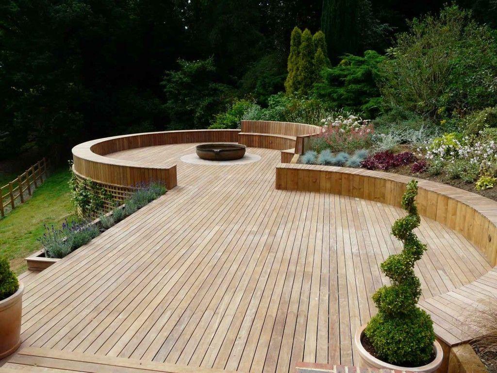 23 Small Wooden Deck Ideas And Pergola Bamboo Color Outdoor Patio Small Backyard Decks Deck Garden Backyard