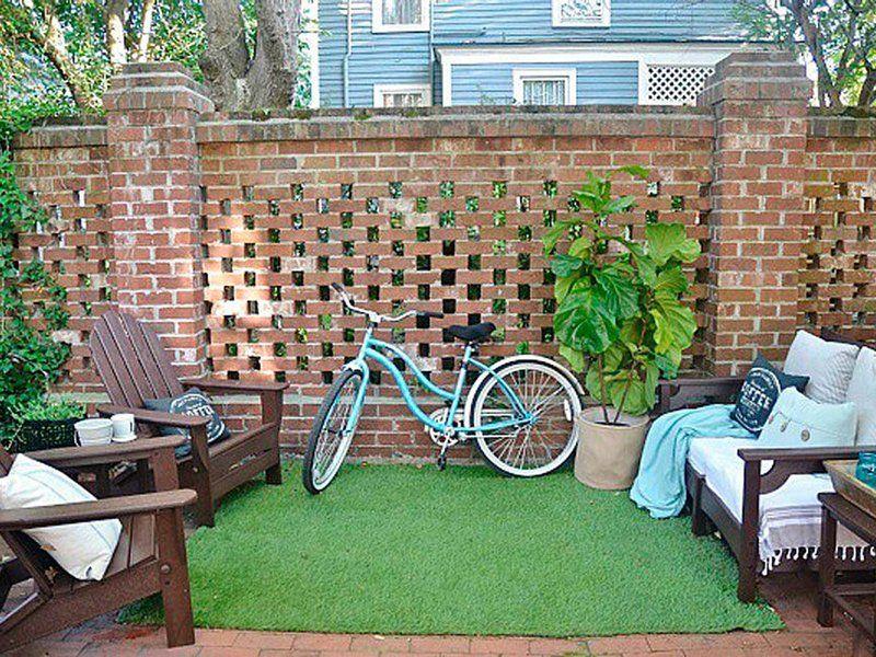 25 ideas creativas para aprovechar al m ximo un jard n for Ideas de decoracion de jardines pequenos