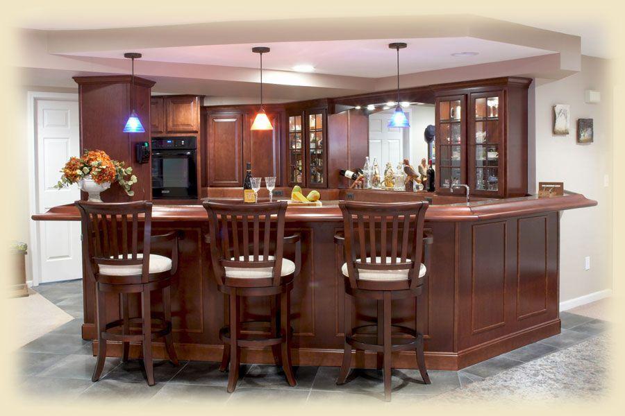 Bon Interior Design · Wood Basement Ideas ...