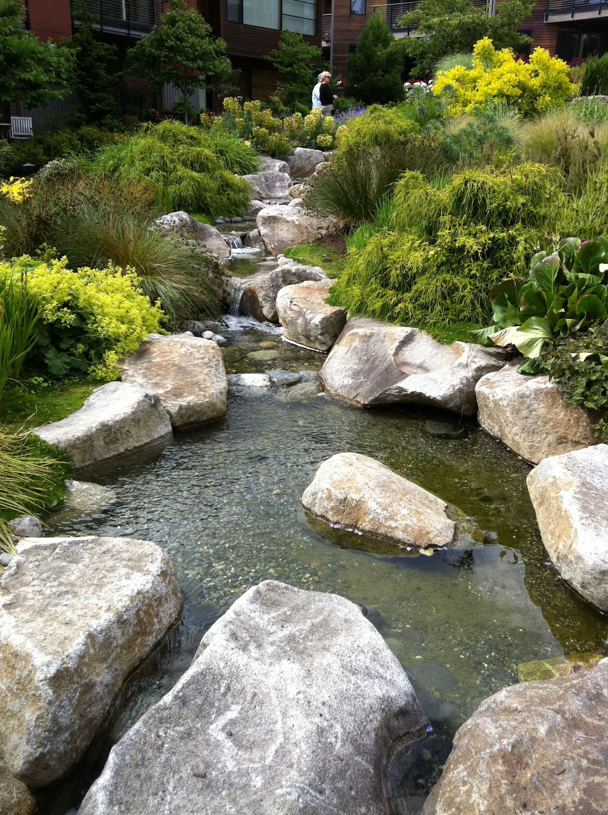 waterfall series stream with large boulders | Water in the ...