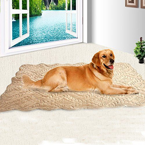 Comfortable Pet Bed Plush Cushion Mat for Dogs and Cats,Pet Dog Crate house , ?Brown … -- Check out this great product. (This is an affiliate link and I receive a commission for the sales) #CatBedMats