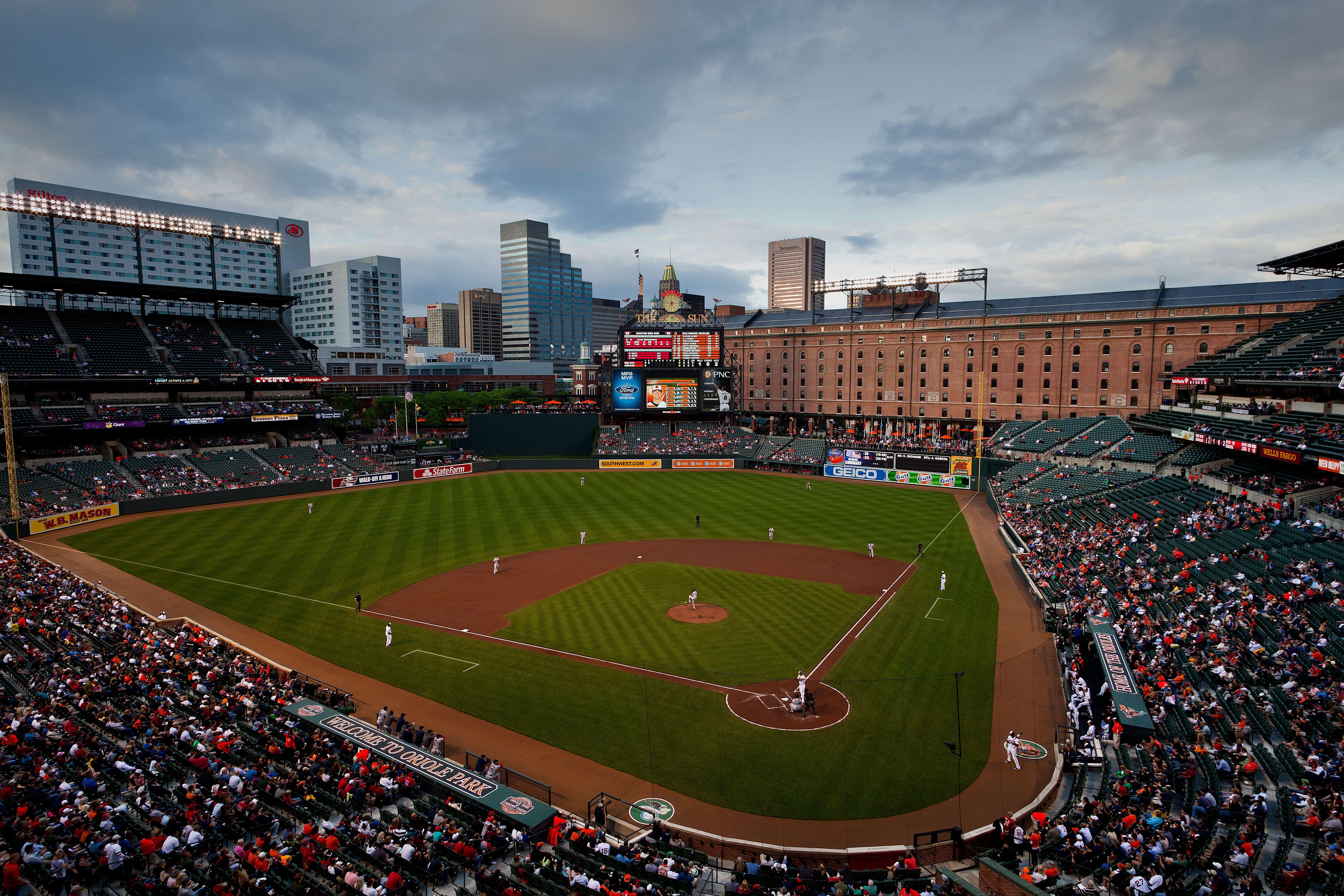 Camden Yards Baltimore Orioles Orioles Baseball Major League Baseball Stadiums Baseball Stadium