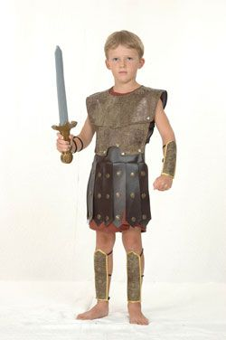 Roman Gladiator Warrior Kids Costume Inspiration To Try And