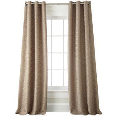 Trivoli Rod Pocket Curtain Panel   JCPenney   Curtains   Pinterest   Rod  Pocket Curtains, Rod Pocket And Window