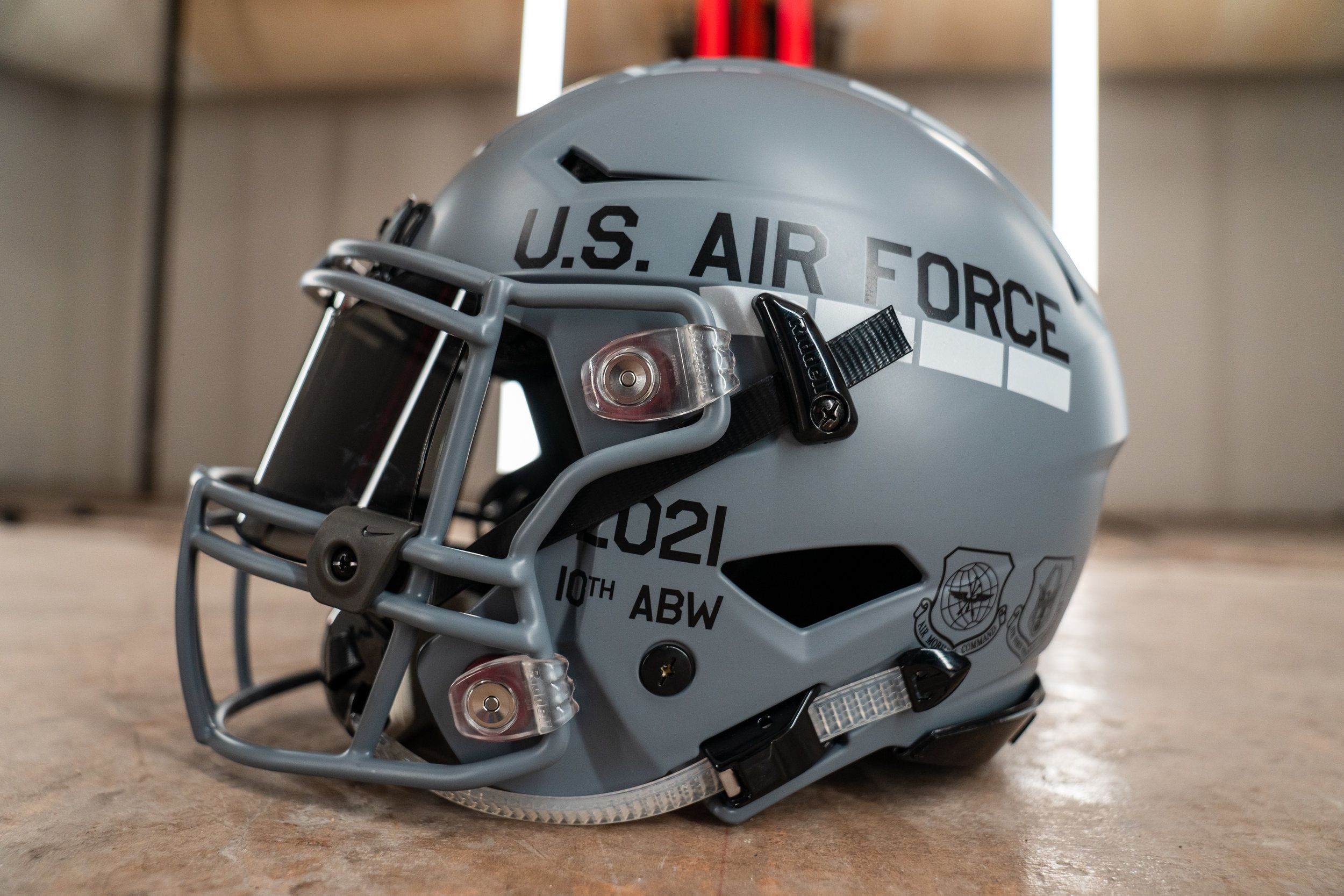 One of THE most amazing helmets we've ever seen. For the