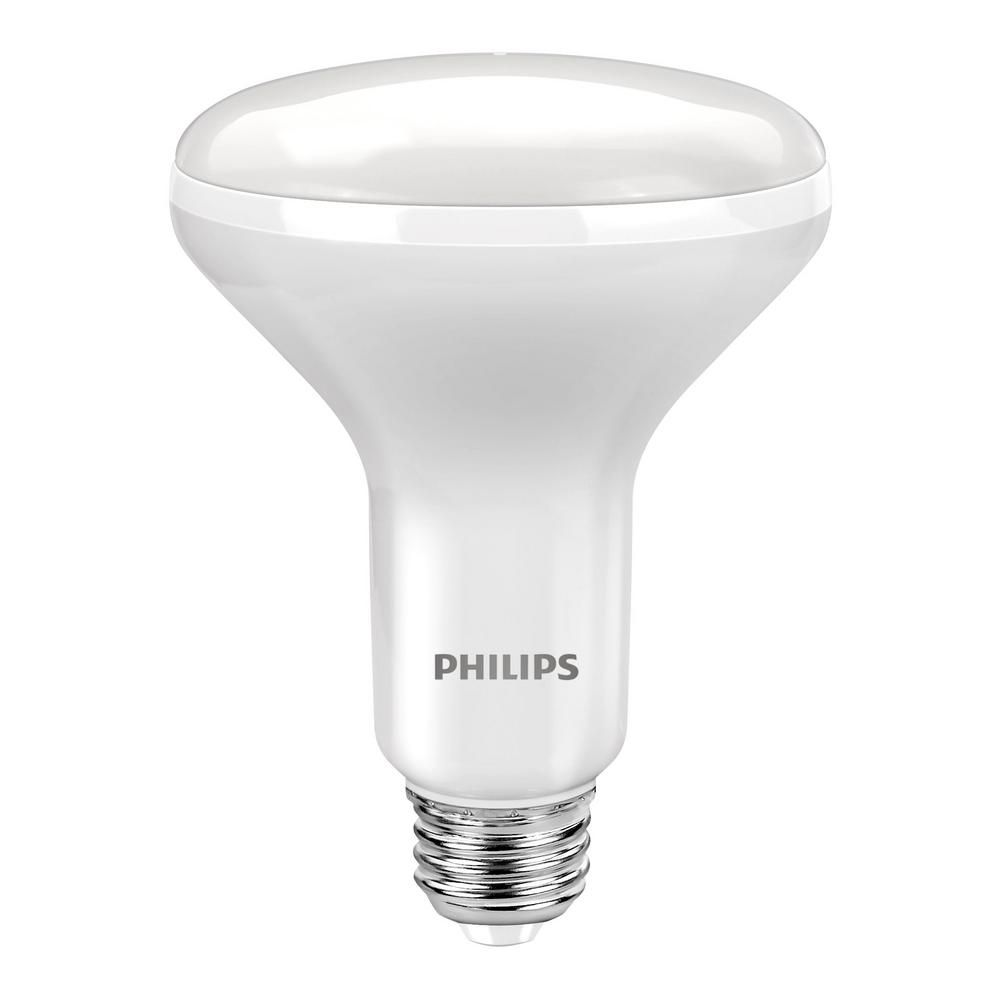 Philips 65w Equivalent Soft White With Warm Glow Br30 Dimmable Led Energy Star Light Bulb 3 Pack Light Bulb Led Flood Lights Led Light Bulb