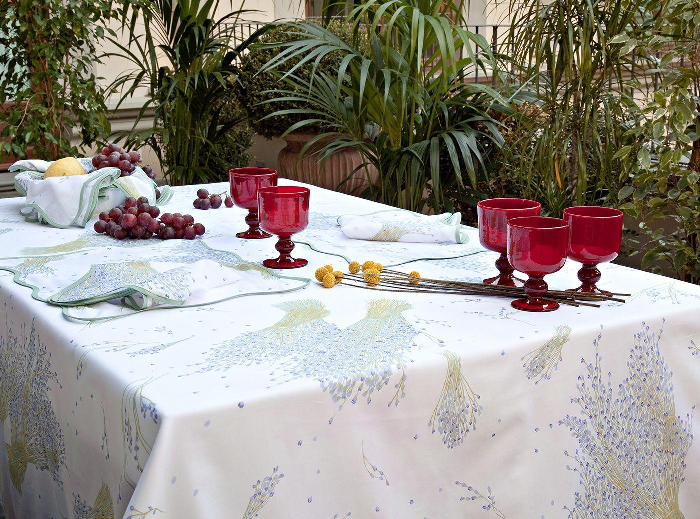 Stunning Pratesi Italian Table Linen