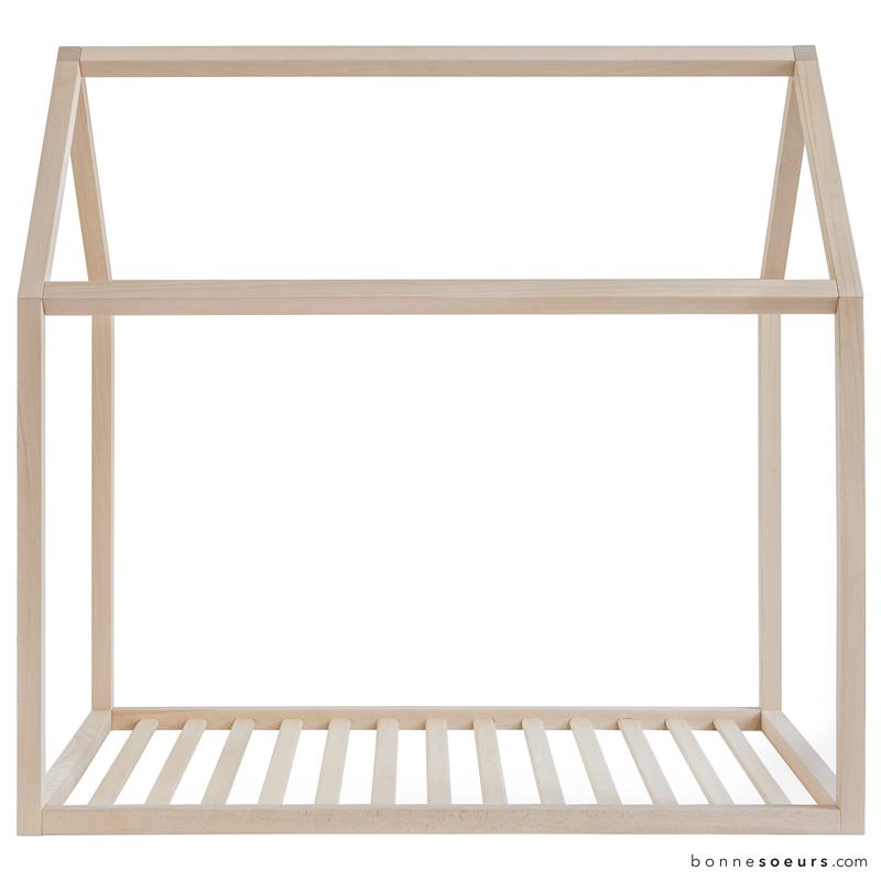 bonnesoeurs design lit maison detail 05 structure vue de cote voir pinterest. Black Bedroom Furniture Sets. Home Design Ideas