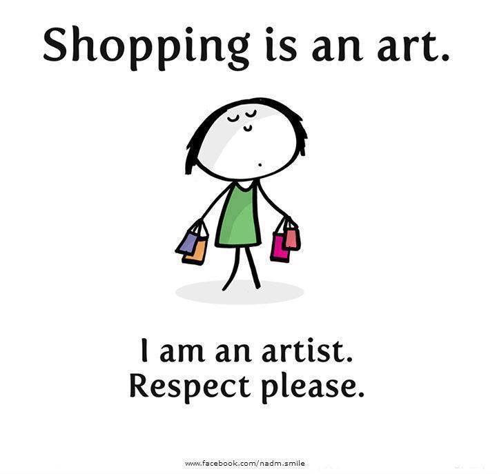 Shopping is an art