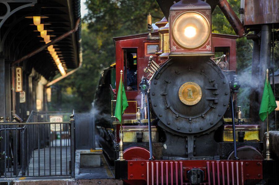 Disney world tests railroad by running it backwards will