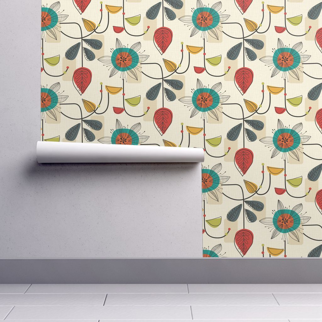 1950's Mid Century Modern on Isobar by patternanddesign
