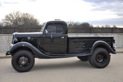 1928 1935 Any Make Flatbed Truck For Sale: 1935 Ford 4x4 1 Ton Dually. Aka Bill Simpson