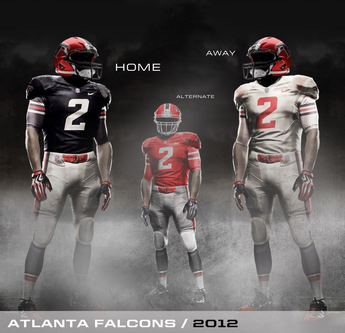 Image Detail For Nike 2010 Falcons Uniform Concept Atlanta Falcons Team Uniforms Atlanta
