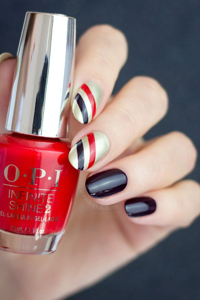 3 Easy Christmas Nail Designs With Step By Step How To Easy
