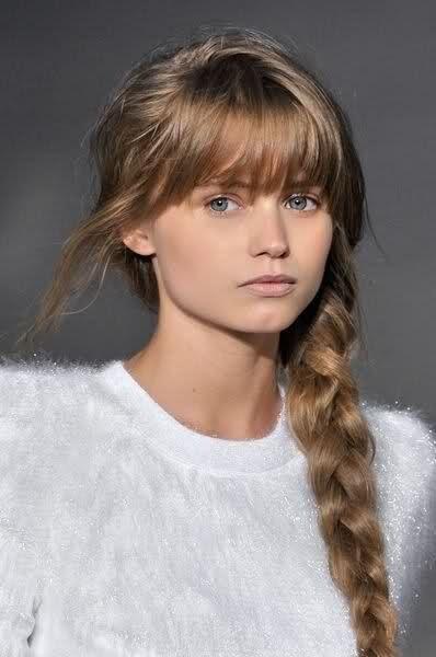 Blond foncé châtain clair In the Hair Cheveux châtains