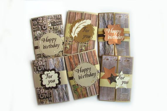 Men Birthday Card Set Blank Cards For Husband