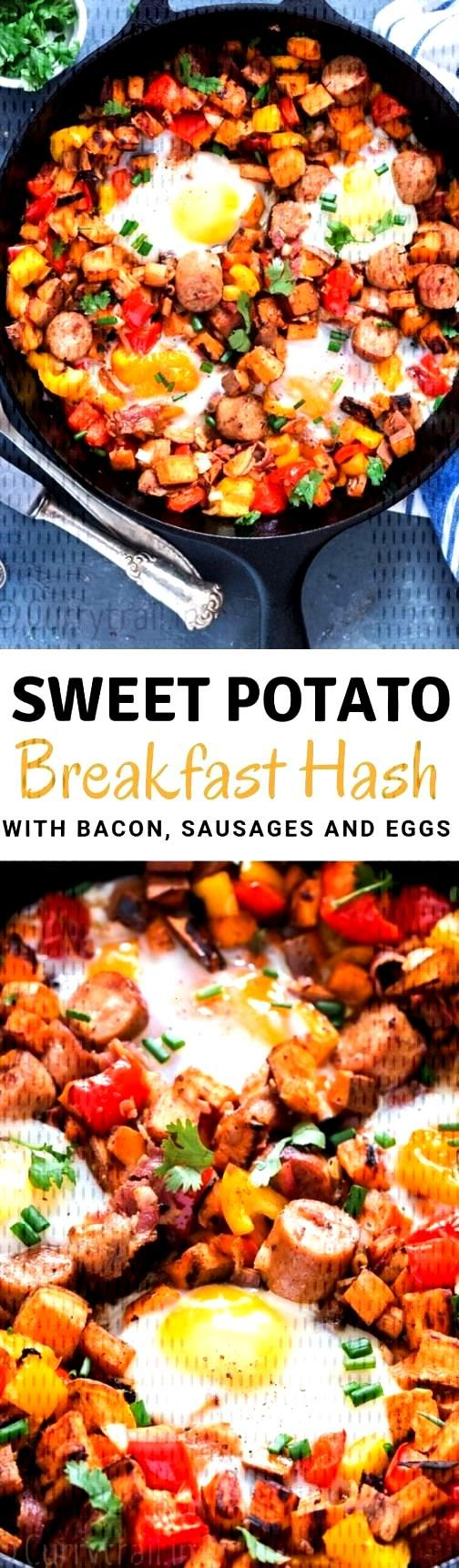 Sweet potato hash breakfast dish is all hearty healthy and satisfying the same time. Its important