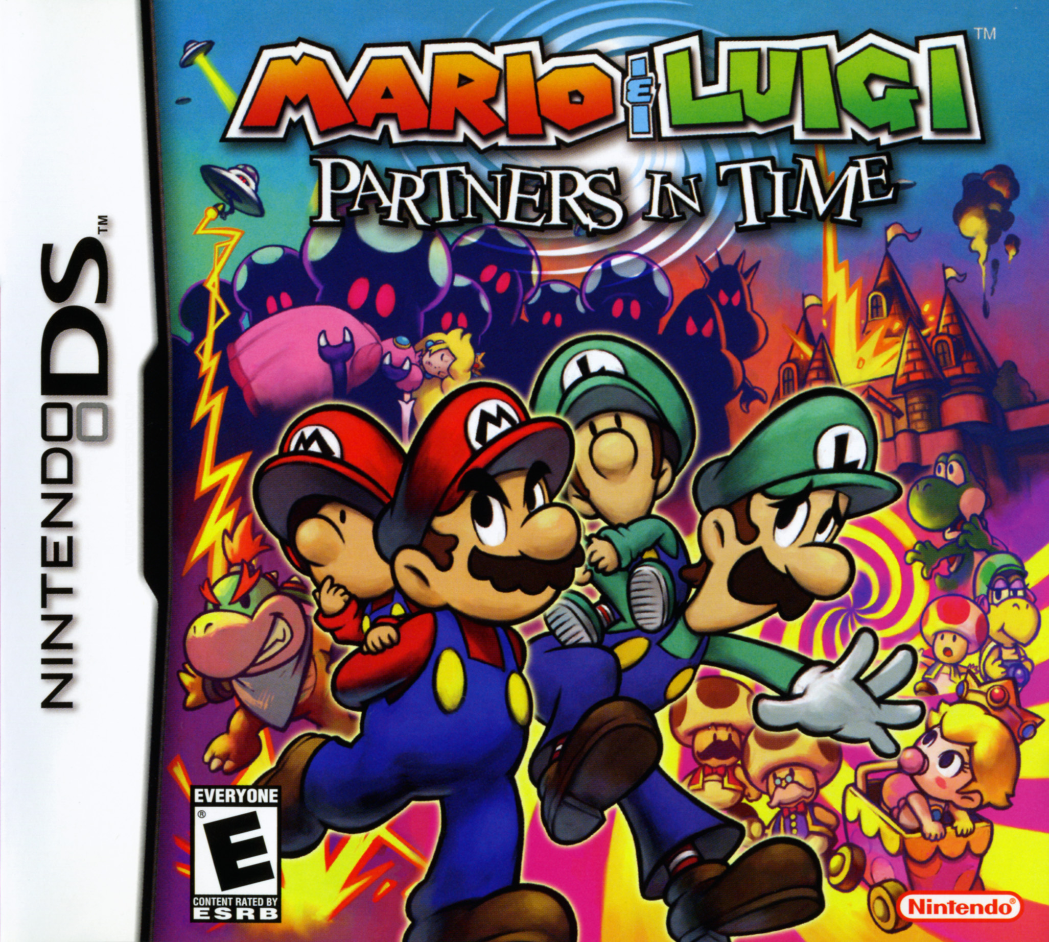 Mario Luigi Partners In Time Nintendo Ds Box Online Gaming