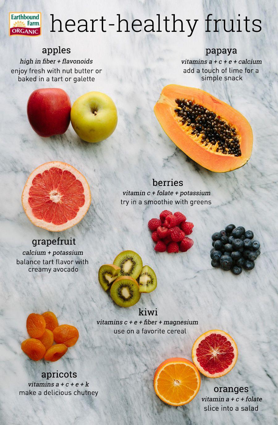 Heart-Healthy Fruits, Healthy Heart Month | Earthbound Farm Organic