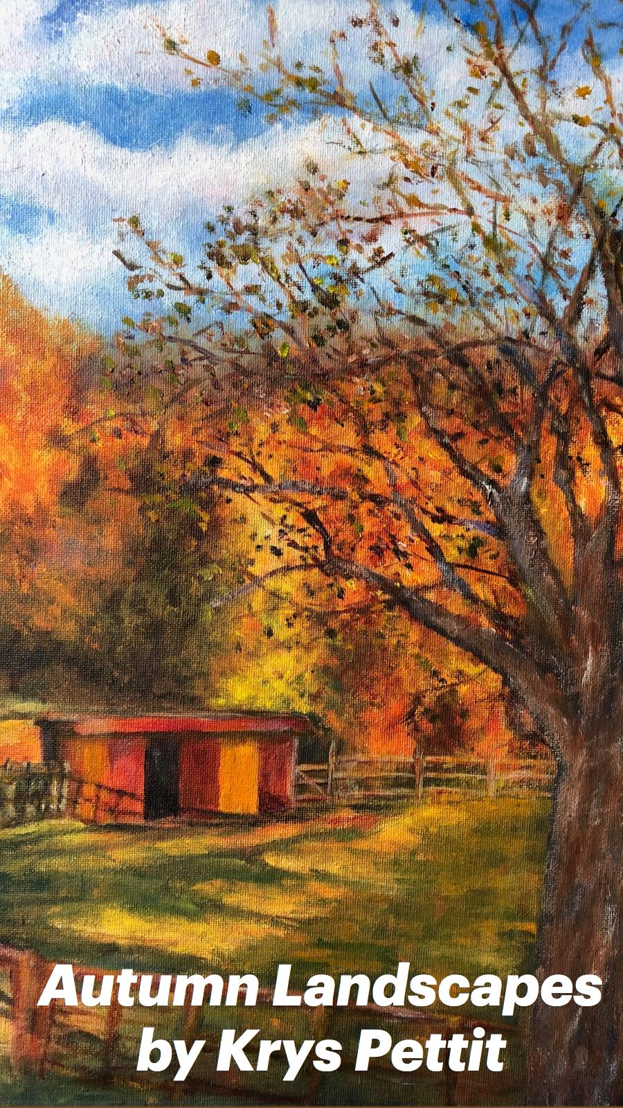 Autumn Landscapes by Krys Pettit