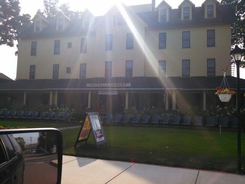 Lenhart Hotel Chautauqua Lake