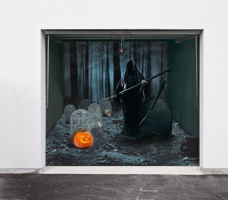Halloween Decoration For Garage Doors