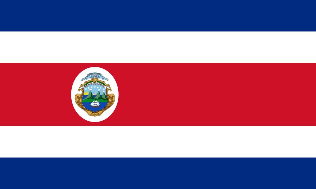 Costa Rica Flags Om Costa Rica Flag Costa Rican Flag Costa Rica