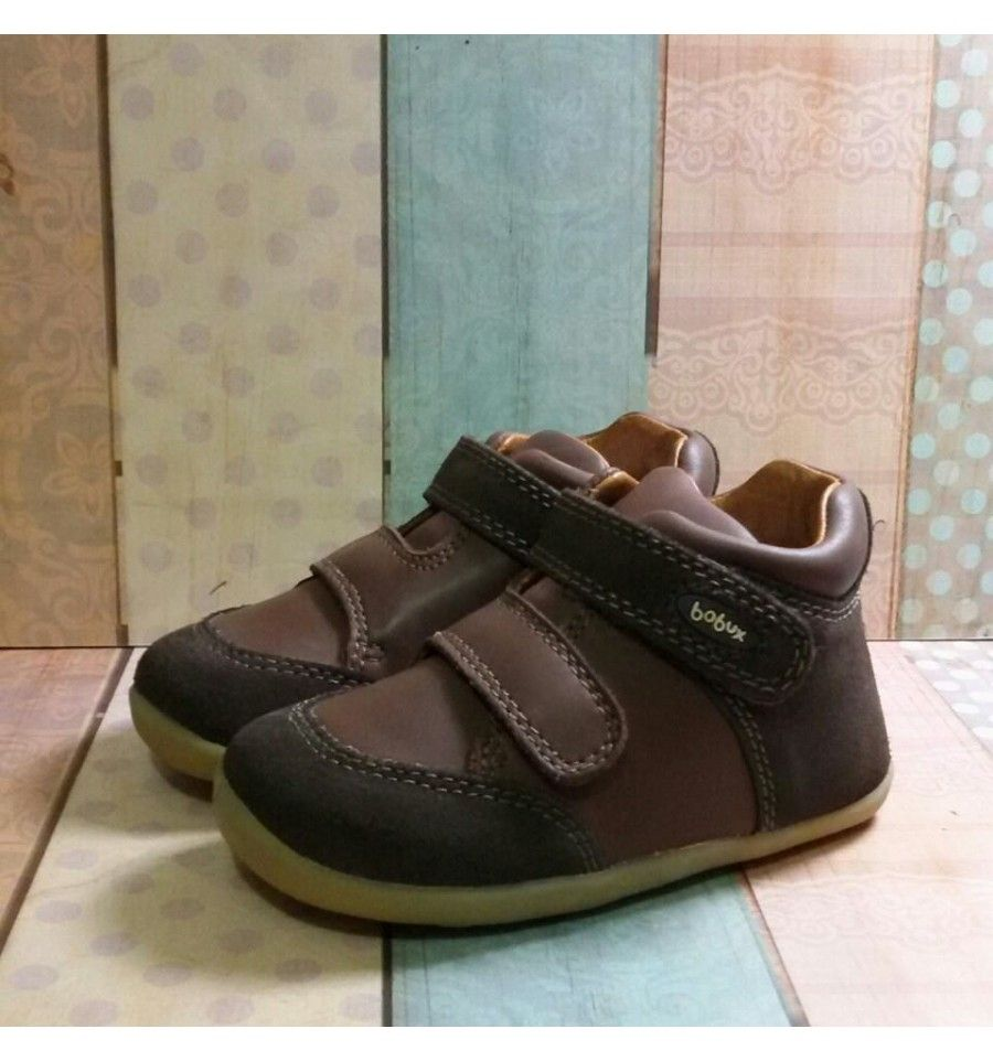 Start Rite Flexy Soft Sail Blue Leather Boys Shoes Sepatu Anak