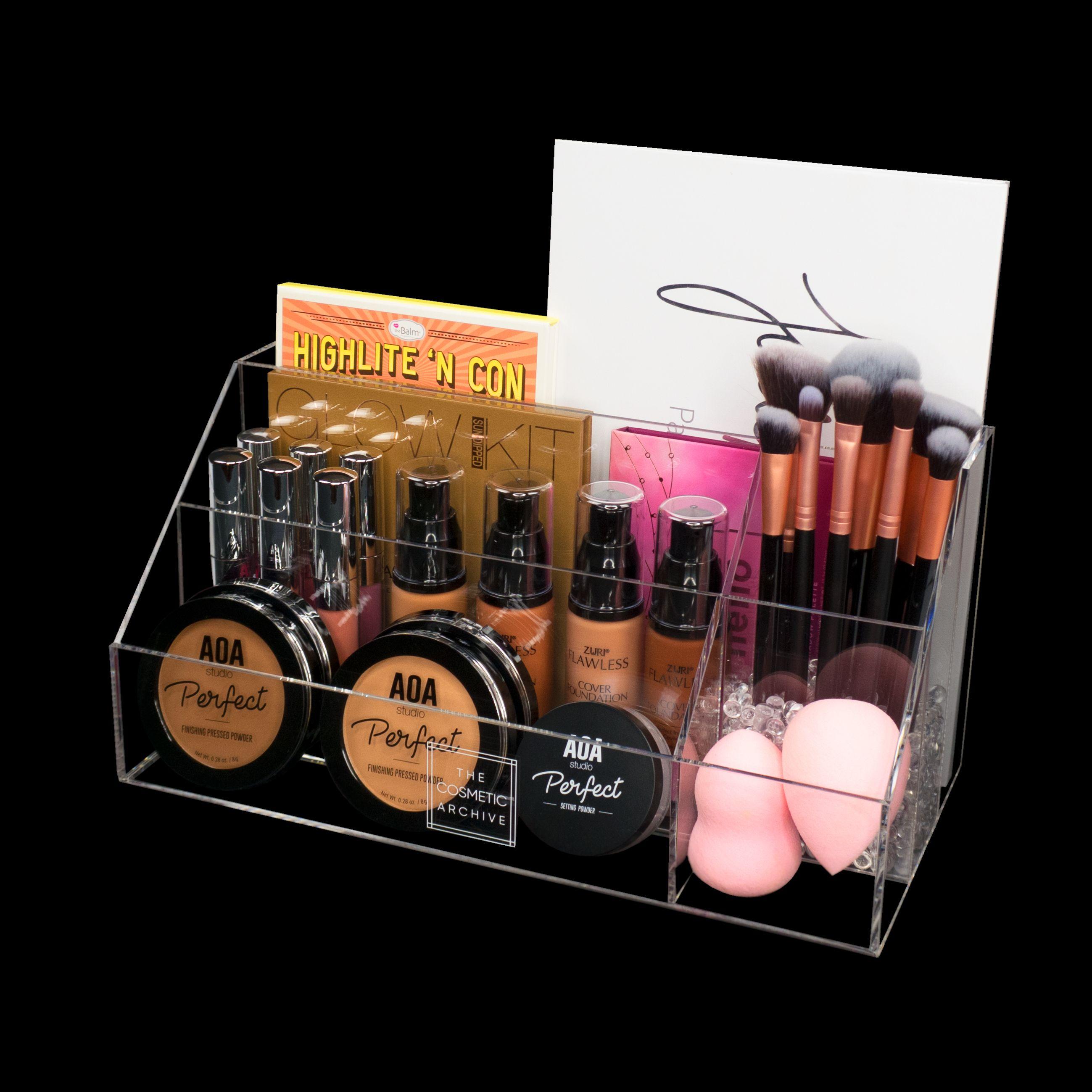 Harley Vanity Top Organizer Acrylic organizer makeup