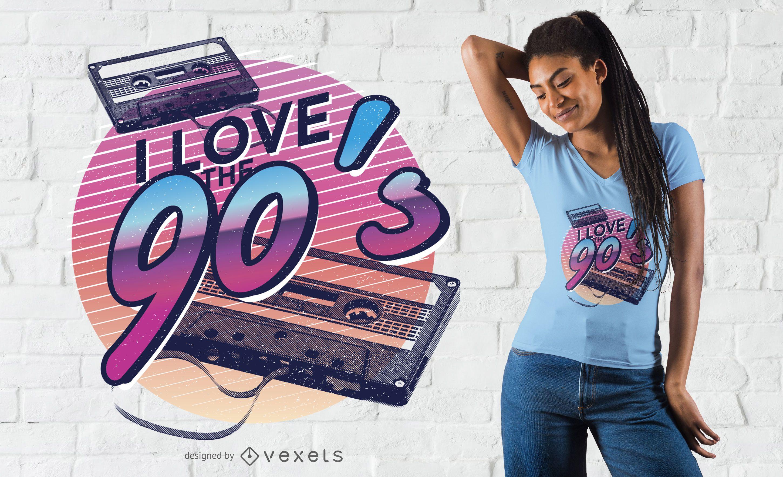 90s Love T Shirt Design Shirt Designs Tshirt Designs Love T Shirt