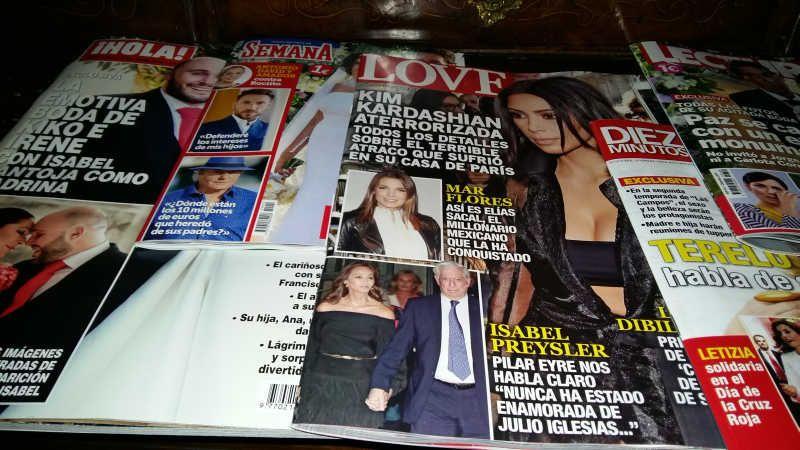 Las bodas de Kiko Rivera y Paz Padilla casi llegan a monopolizar las portadas de la semana
