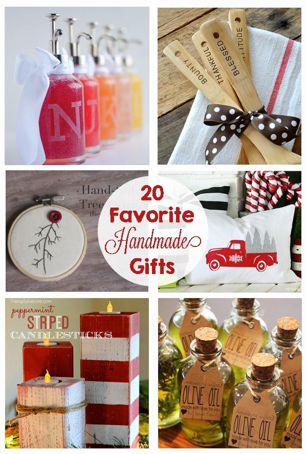 Favorite Handmade Christmas Gifts | The Crafting Chicks | Pinterest ...