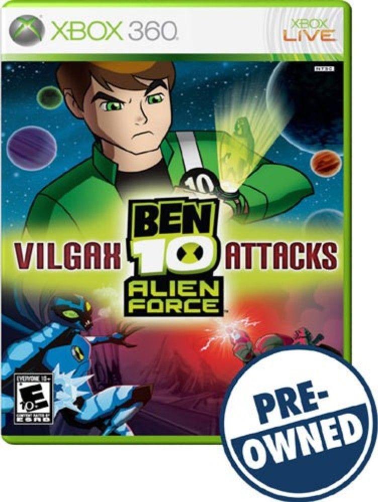 Ben 10 Alien Force Vilgax Attacks Pre Owned Best Buy Ben 10 Alien Force Cool Things To Buy Alien
