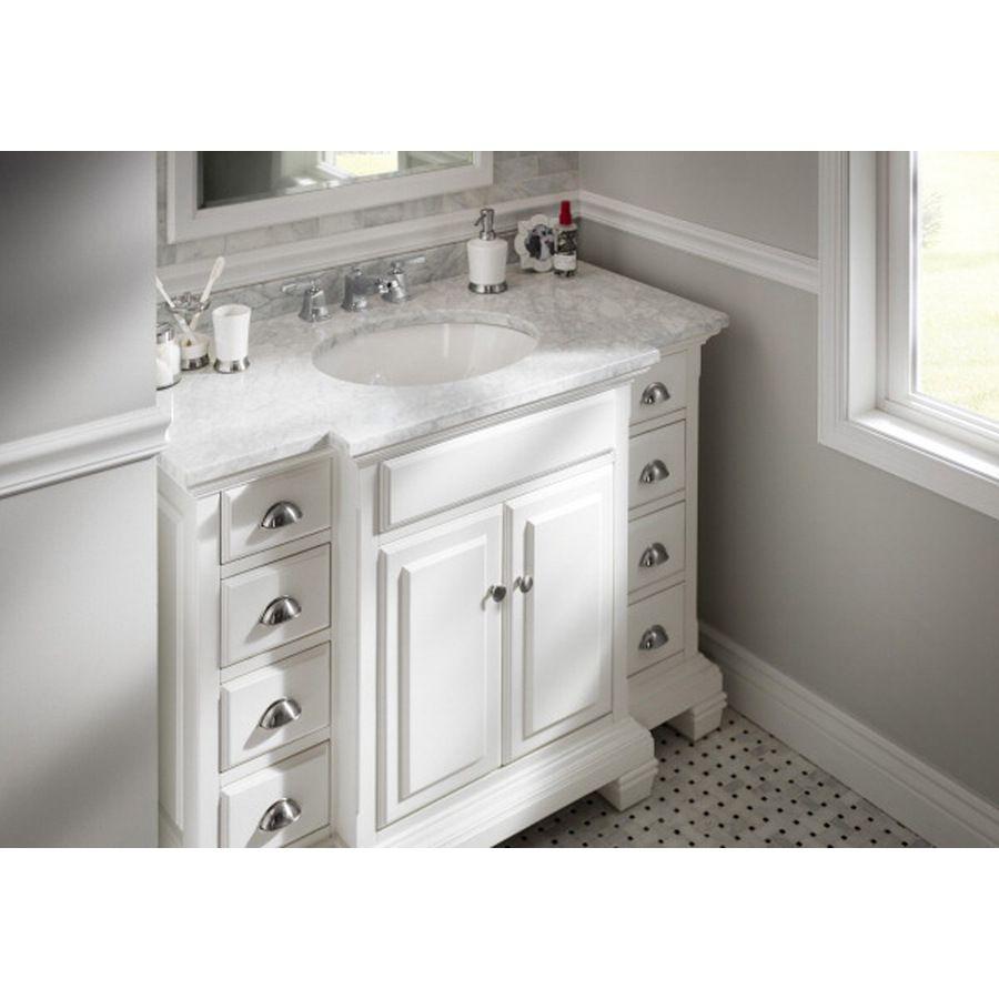 Allen & Roth White Bathroom Vanities - Bathroom Design Ideas
