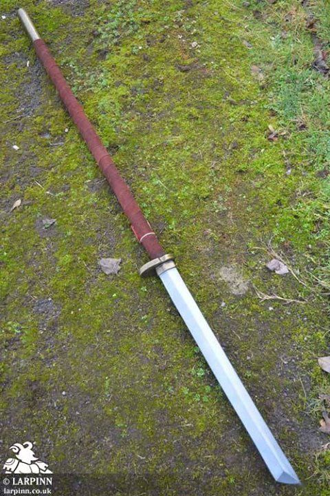 Staff Sword   Guns and Such   Ninja weapons, Fantasy weapons