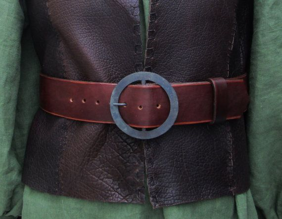 Renaissance Medieval Wide Pirate Belt