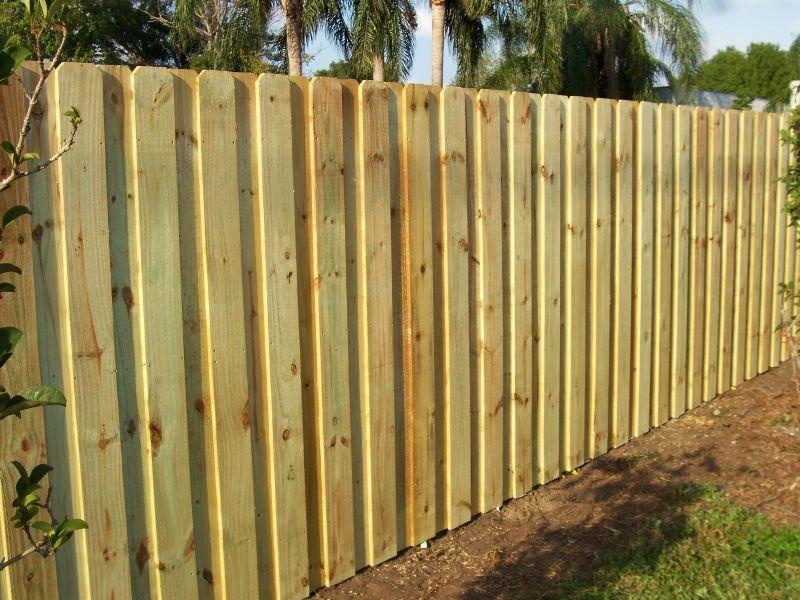 Wood Board On Board Fence Wood Fence Design Fence Design Wood Fence Installation