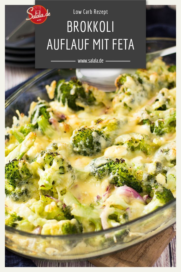 Photo of Broccoli Feta Gratin – Low Carb Recipe | salala.de – Low carb made easy