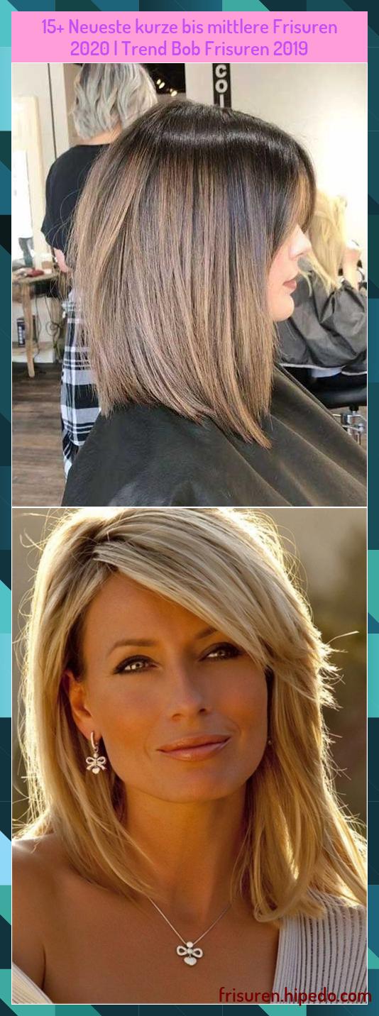 Kurzhaarfrisurenfeines In 2020 Mittellange Haare Frisuren Einfach Frisuren Lange Haare Schnitt Bob Frisur