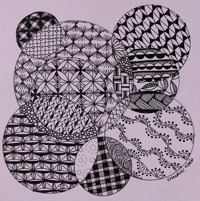 zentangle circles | Zentangle Circles | Flickr - Photo Sharing!